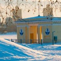 Температурный минимум на Речном :: Alexander Petrukhin