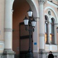 Фонари около Московского вокзала. (Санкт-Петербург). :: Светлана Калмыкова