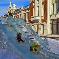 Ледяная горка :: Viacheslav Birukov