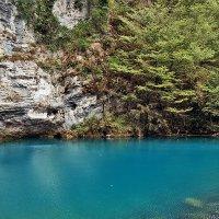 Абхазия Голубое озеро :: Денис Масленников