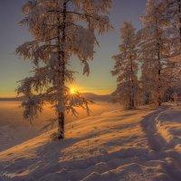 Закат в горах :: Михаил Потапов
