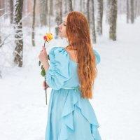 Девушка с розой. :: Александр Лейкум