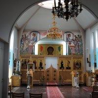 Внутренний вид Свято-Троицкой церкви Линтульского монастыря в Палокки :: Елена Павлова (Смолова)