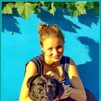 Наташа с другом.. :: Светлана Петошина