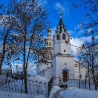 Церковь Николая-Чудотворца :: Сергей Цветков