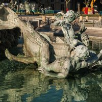 Бордо. Фонтан памятника жирондистам. :: Надежда Лаптева