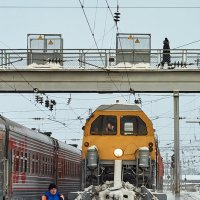 Железнодорожный пылесос :: Алексей Некрасов