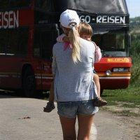 С  мамой.... :: Валерия  Полещикова