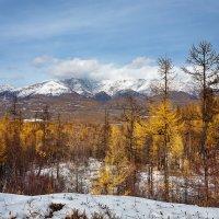 Горы в снегу :: Анатолий Иргл