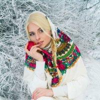 Девушка зима :: Julia Volkova