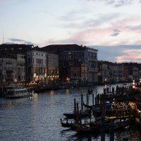 Венеция, закат (вид с Моста Риальто) :: Svetlana (Lucia) ***