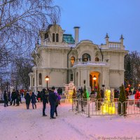 На открытии ледяных скульптур :: Валерий Горбунов