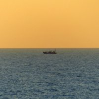 Вечернее море. :: Пётр Беркун