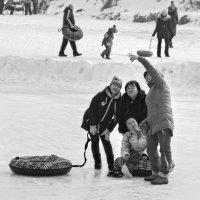 Зимний отдых... :: Елена Иванова