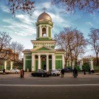 День перед Рождеством у Свято-Троицкого Собора, Одесса. :: Вахтанг Хантадзе