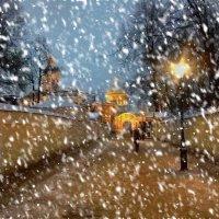 Снежный вечер. :: Evgenij Schleinikov