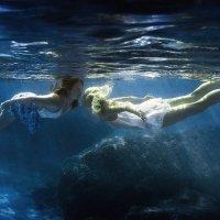 Two Graces underwater :: Дмитрий Лаудин