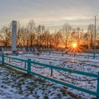 Братская могила в селе Жеведь :: Сергей Тарабара