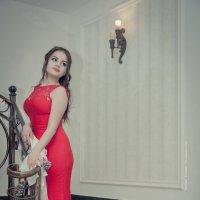 леди в красном :: KanSky - Карен Чахалян