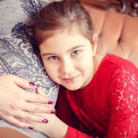 Елена и её прекрасная дочь Лина в ожидании малыша :: Аннета /Анна/ Шу