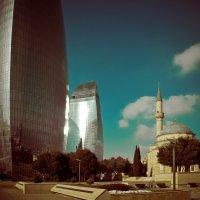 Баку, город контрастов. :: Олег Дурнов