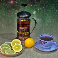 Вечерний чай. :: Владимир M
