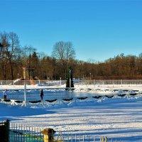 Каток в старинном парке... :: Sergey Gordoff