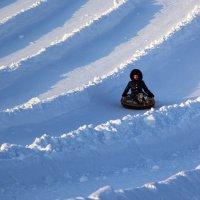 Снежные волны :: Aнна Зарубина