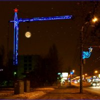 Луна повисла на крюке. :: Anatol Livtsov