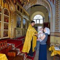 Крещение Матвея. :: Раскосов Николай