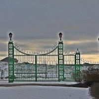 Врата сказки зимней.... :: Tatiana Markova