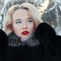 в образе Мэрилин Монро :: Julia Volkova