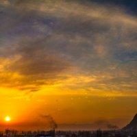 закат 27.01.17 :: Hурсултан Ибраимов фотограф