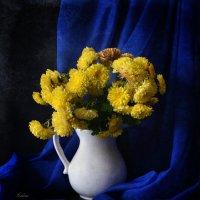 Желтые хризантемы :: Галина Galyazlatotsvet