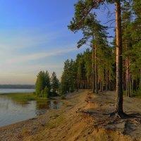 Красивое озеро Сустамонъярви. :: Владимир Ильич Батарин