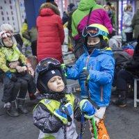 Подготовка горнолыжников :: Светлана Яковлева