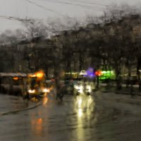 Промокло небо и земля.... :: Ольга Лиманская