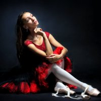 Портрет балерины... :: Андрей Войцехов