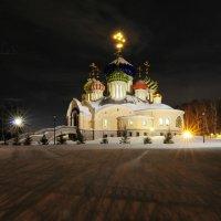 Храм в Переделкино. 29.01.2017. :: Виталий Виницкий