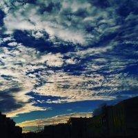 Вечернее небо :: Татьяна Тимофеева