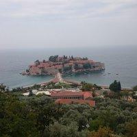 Остров Св.Стефана в Черногории :: Лев