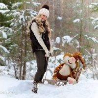 зимняя прогулка :: Юрий Сидоров