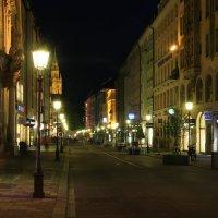 Улица ночных фонарей :: Евгений +