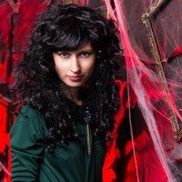 Halloween ведьма в паутине :: Valentina Zaytseva