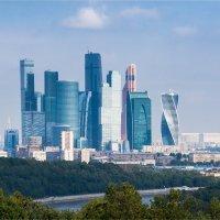 Панорама на Москва-Сити :: Юрий Рекеть