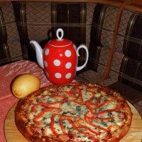 Пицца - GRACCULUS. Сам делал... :: Владимир Ильич Батарин
