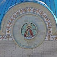 Мозаичная  икона  Святого Александра  Невского. :: Виталий Селиванов