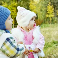 Юные влюблённые. :: Анастасия Рогозина