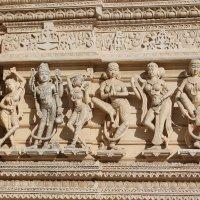 стена Индийского храма. :: maikl falkon