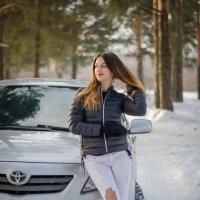 Лена и авто) :: Андрей Мирошниченко
